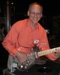 Steve with Clear Guitar
