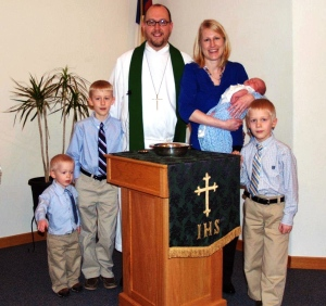 Pastor Rob Guenther & Family